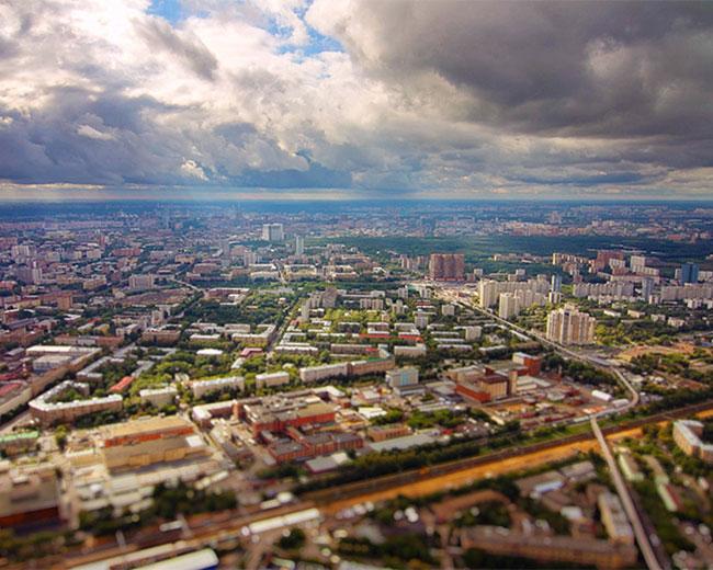 Moscú hyperlapse